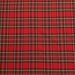 Cuadros Escoceses Rojo