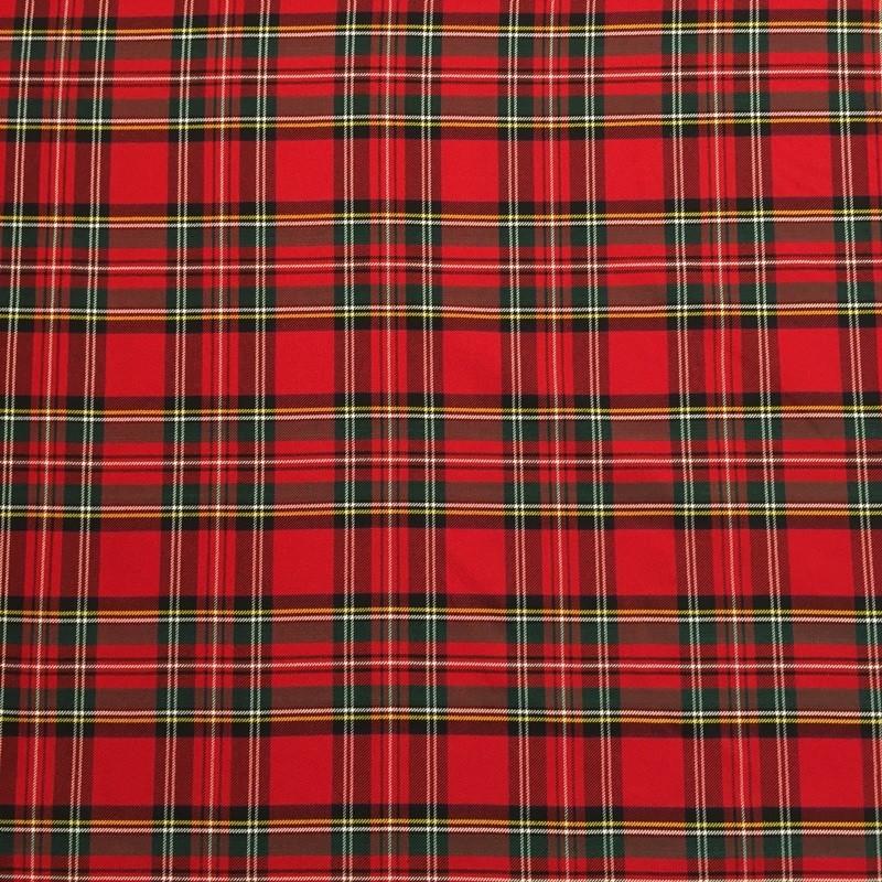 cuadros escoceses rojo cal joan teixits i confeccions