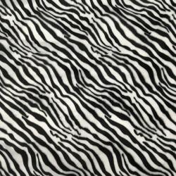 Pelo Estampado Zebra