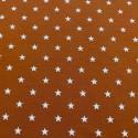 Estampado Estrellas fondo Brick (Punto de Camiseta)