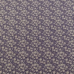 Flores fondo Azul Marino