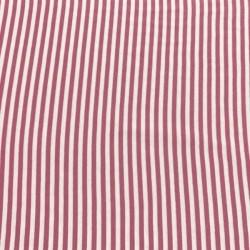 Tela de Puño de Rayas Rosa y Blanco (5mm)
