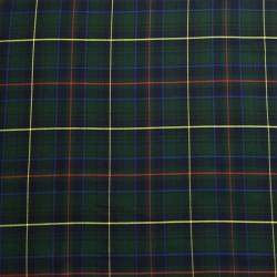 Cuadros Escoceses Blanco y Azul Marino