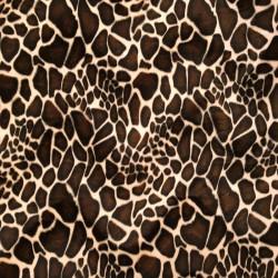 Pelo Estampado Girafa