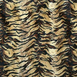 Pelo Estampado Tigre