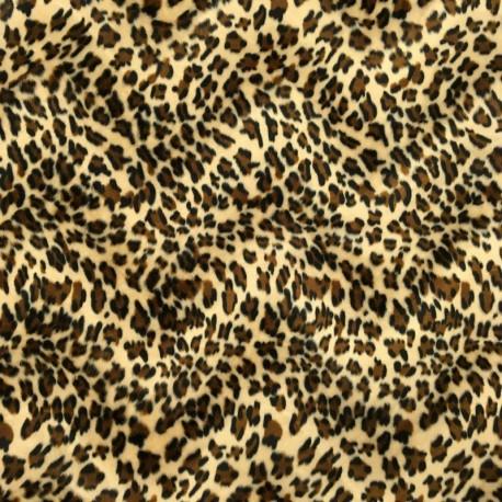 Pelo Estampado Leopardo